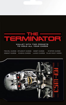 TERMINATOR - endoskeleton kártyatartó