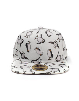 Star Wars The Last Jedi - All Over Porgs Snapback Kasket