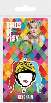 Llavero Birds Of Prey: y la fantabulosa emancipación de Harley Quinn - Harley Quinn Caution