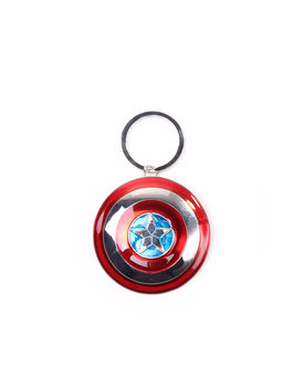 Llavero  Captain America - Shield 3D