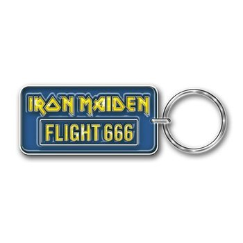 Llavero  Iron Maiden - Flight 666