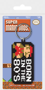 Llavero  Super Mario Bros. - Born In The 80's