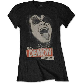 T-Shirt  Kiss - The Demon Rock God Ladies