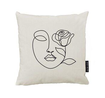 Kissen Rose