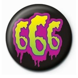 Kitűzők 666 SLIME