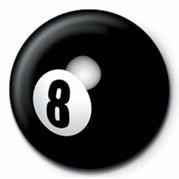 Kitűzők 8 BALL