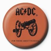 Kitűzők AC/DC - ABOUT TO ROCK
