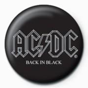Kitűzők AC/DC - BACK IN BLACK
