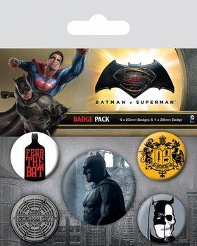 Batman Superman ellen: Az igazság hajnala - Batman kitűző