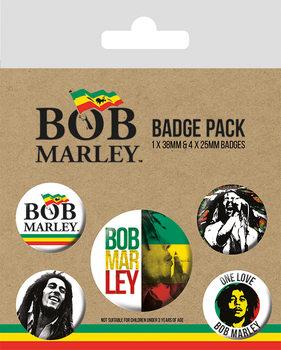 Bob Marley kitűző