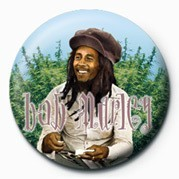 BOB MARLEY - rollin - Kitűzők
