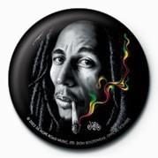 BOB MARLEY - smoke - Kitűzők