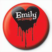 Kitűzők Emily The Strange - logo