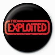 Kitűzők EXPLOITED (RED LOGO)