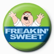 Kitűzők Family Guy (Freakin' Sweet