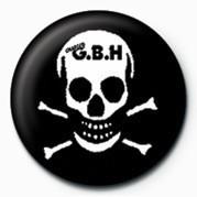 Kitűzők G.B.H (SKULL)