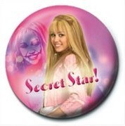 Kitűzők HANNAH MONTANA - Secret Star