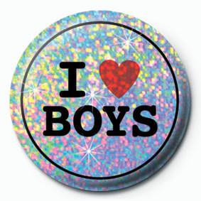Kitűzők I LOVE BOYS