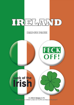 IRELAND kitűző