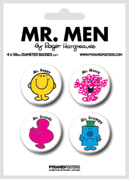 MR MEN kitűző