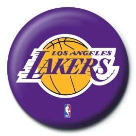NBA - los angeles lakers logo - Kitűzők
