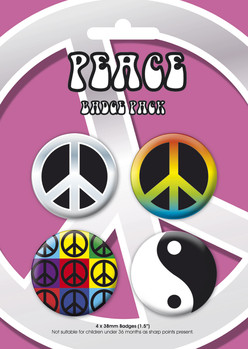 PEACE GB Pack kitűző