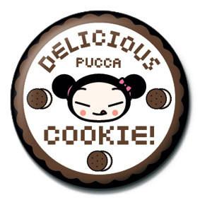 Kitűzők PUCCA - cookie