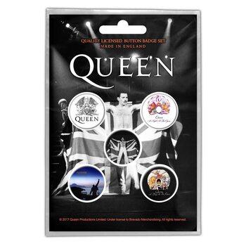 Kitűző készlet Queen - Freddie