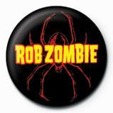 ROB ZOMBIE - spider logo - Kitűzők