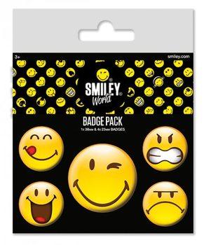 Smiley - Emoticon kitűző