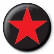 STAR (RED) - Kitűzők