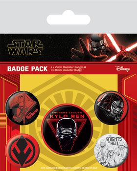 Kitűző készlet Star Wars: Skywalker kora - Sith