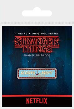 Kitűzők Stranger Things - Scoops Ahoy