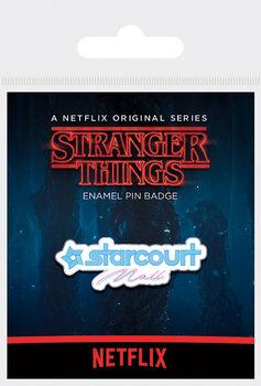 Kitűzők Stranger Things - Starcourt Mall