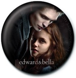 Kitűzők TWILIGHT - ed and bella