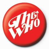WHO - curve logo - Kitűzők