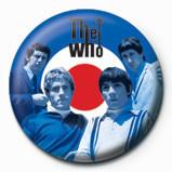 WHO - target band - Kitűzők