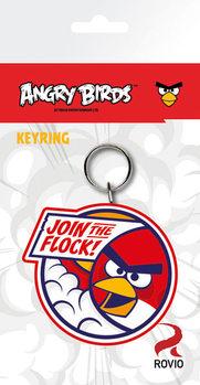 Klíčenka Angry Birds - Red