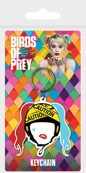 Klíčenka Birds Of Prey: Podivuhodná proměna Harley Quinn - Harley Quinn Caution