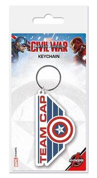 Klíčenka Captain America: Občanská válka - Team Cap
