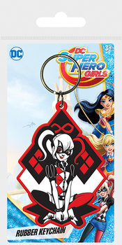 Klíčenka  DC Super Hero Girls - Harley Quinn