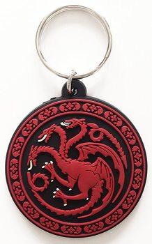 Hra o Trůny - Game of Thrones - Targaryen Klíčenka, přívěšek
