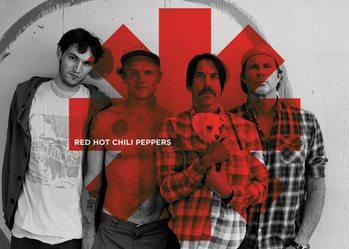 Klíčenka Red Hot Chili Peppers - Red Asterix