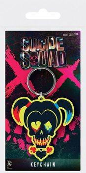 Klíčenka Sebevražedný oddíl - Harley Quinn Skull