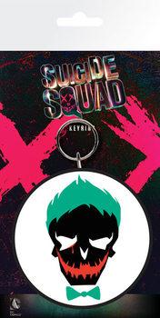Klíčenka Sebevražedný oddíl - Joker Skull