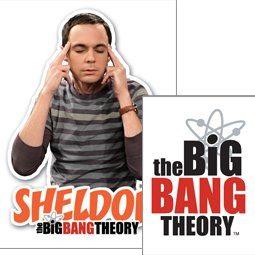Klíčenka The Big Bang Theory (Teorie velkého třesku) - Sheldon