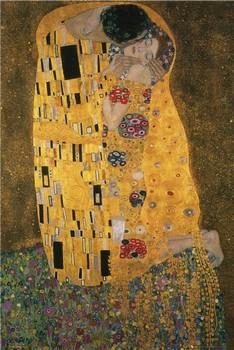 Klimt - the kiss - плакат (poster)