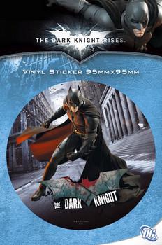 Klistermærke BATMAN DARK KNIGHT RISES - batman