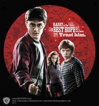 Klistermærke HARRY POTTER – trio