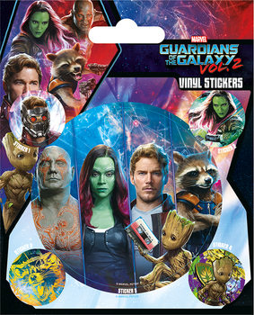 Guardians of the Galaxy Vol. 2 - Team Klistremerke